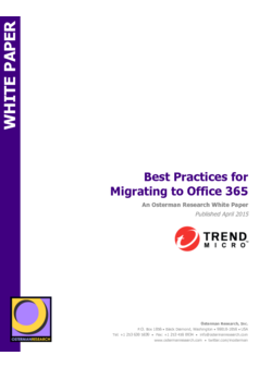 Best Practices for Migrating to Office 365