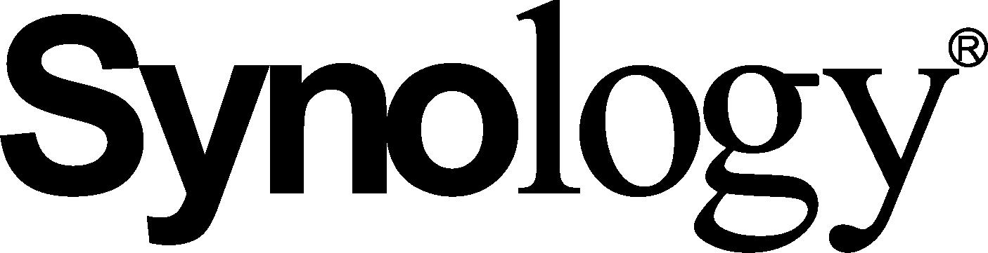 Synology logo black 3
