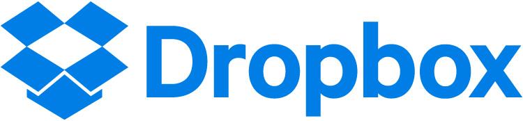 Dropbox blue