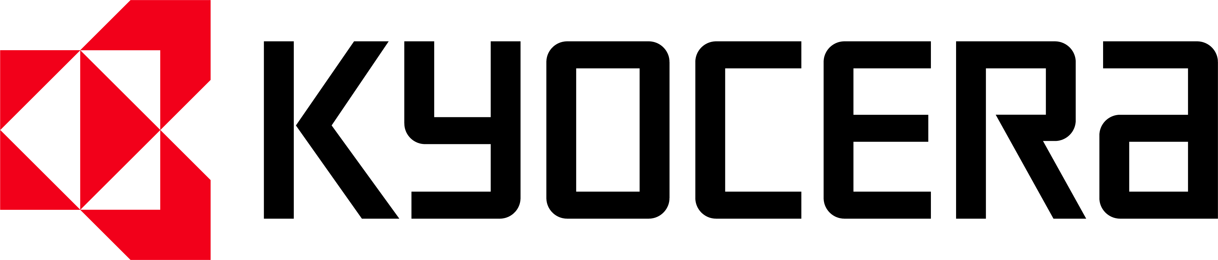 Kyocera cmyk logo positive