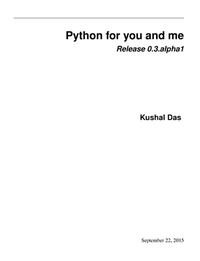 Python for You and Me
