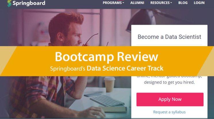 Review of Springboard's Data Science Career Track – LearnDataSci