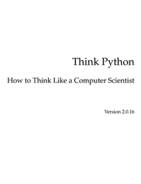 Think Python 2nd Edition