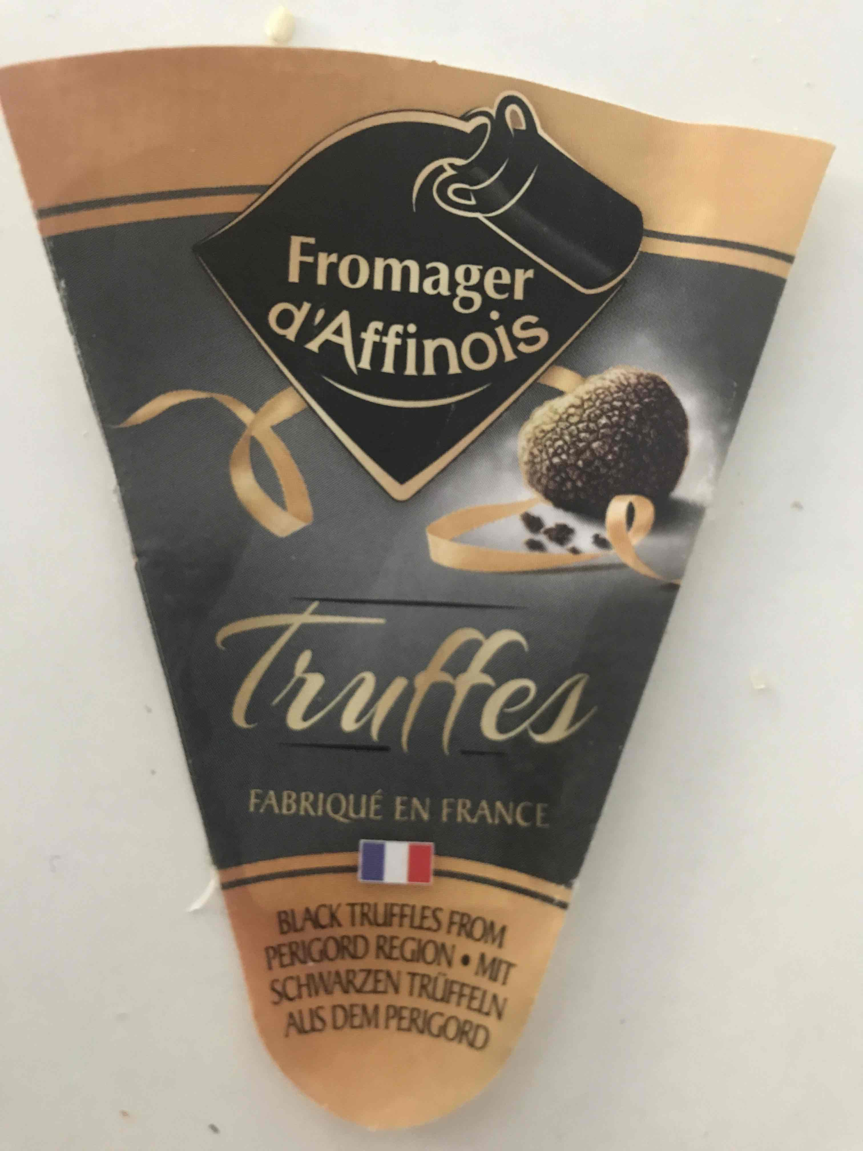 Fromager d'Affinois with Truffles
