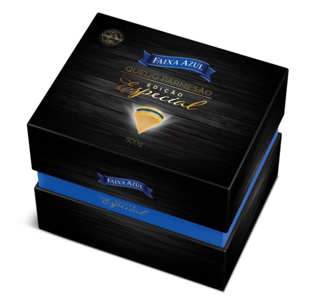 Faixa Azul Parmesao Gift