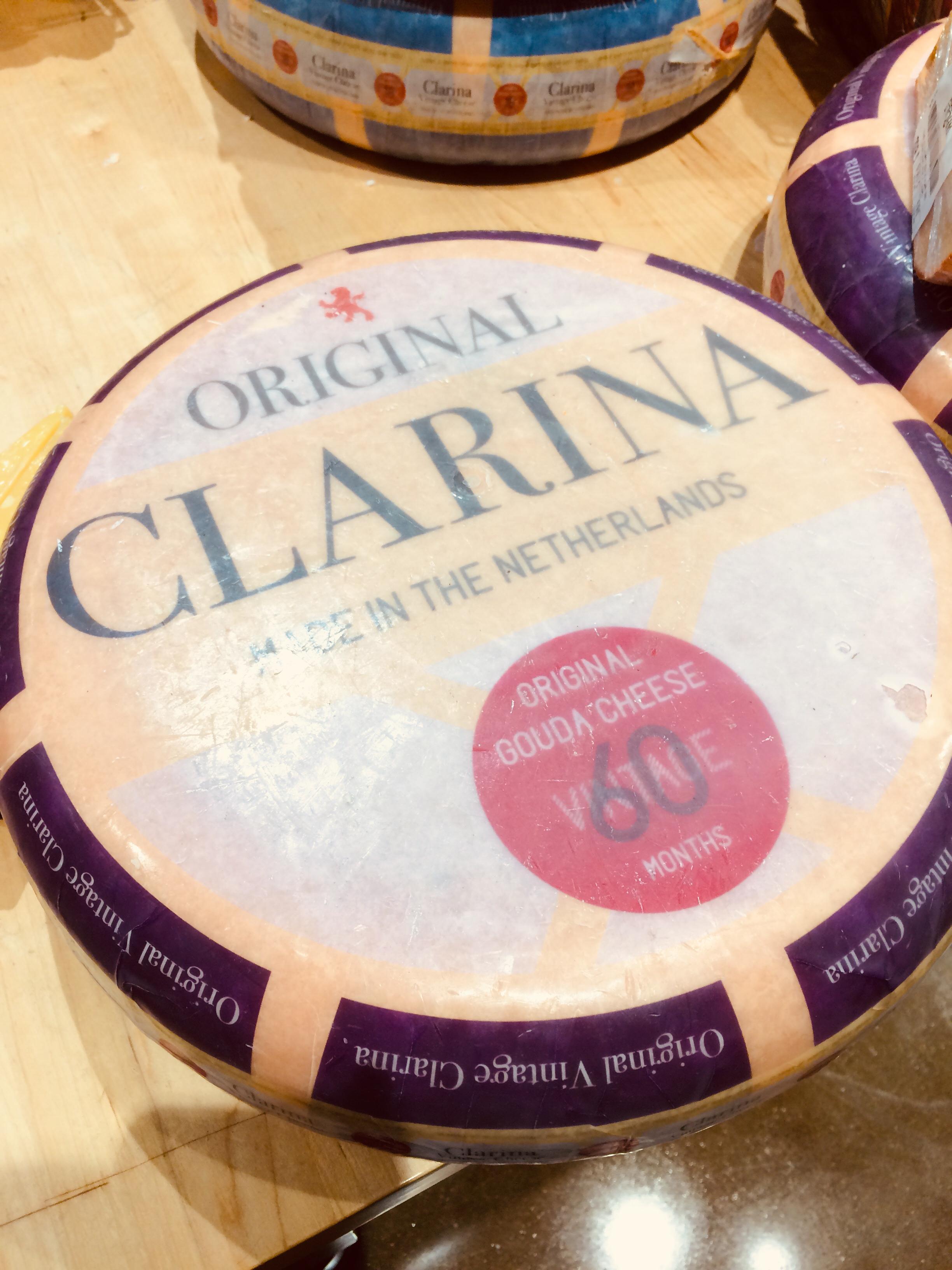 Clarina Gouda 60 months