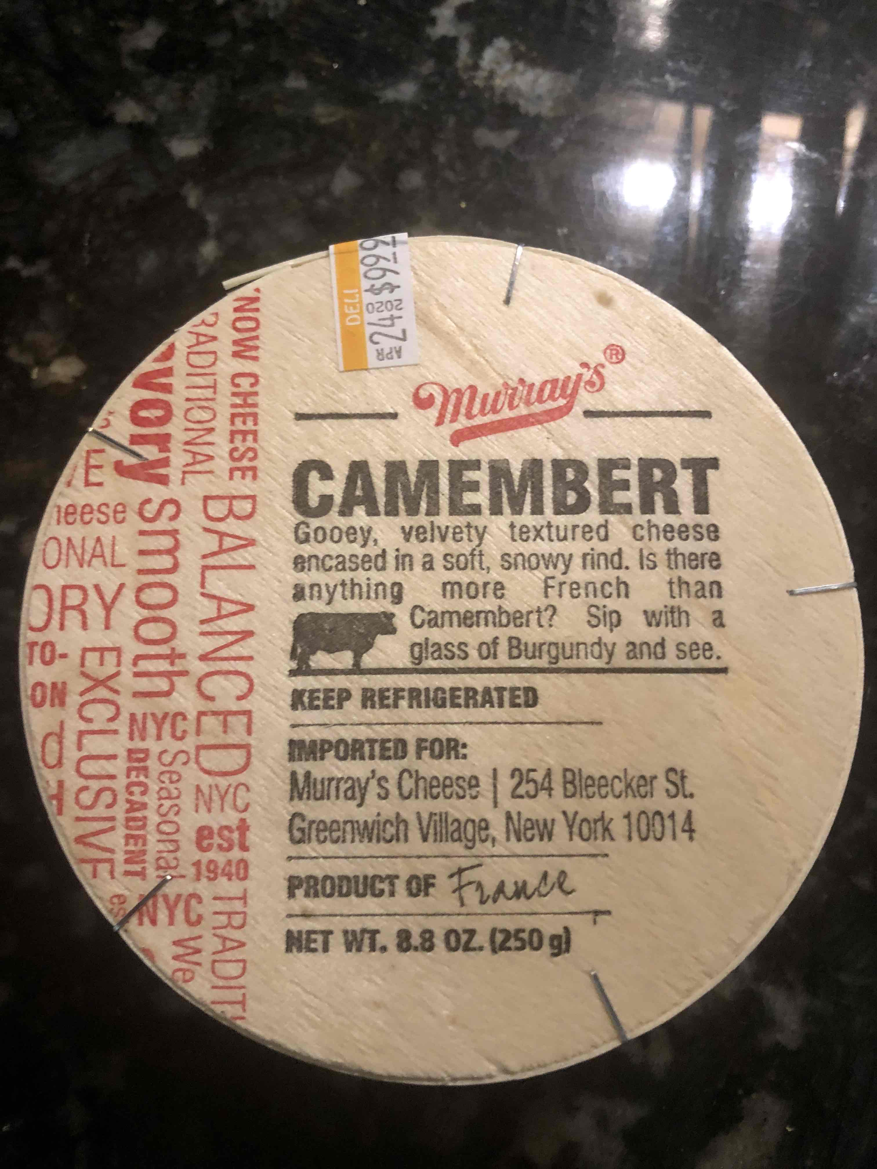 Murray's Camembert