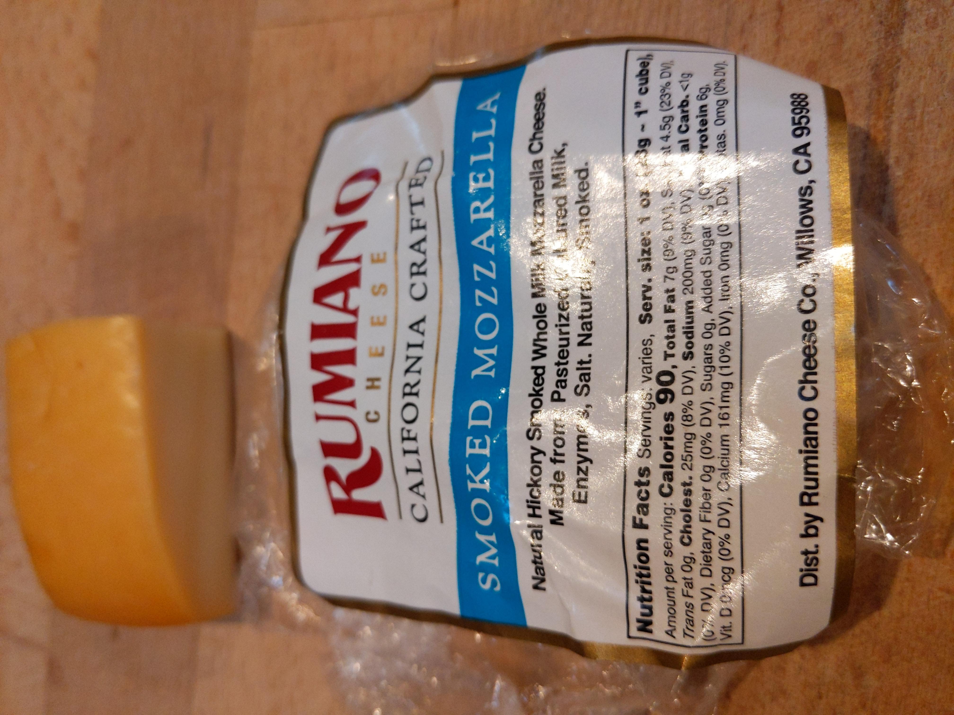 Rumiano Smoked Mozzarella