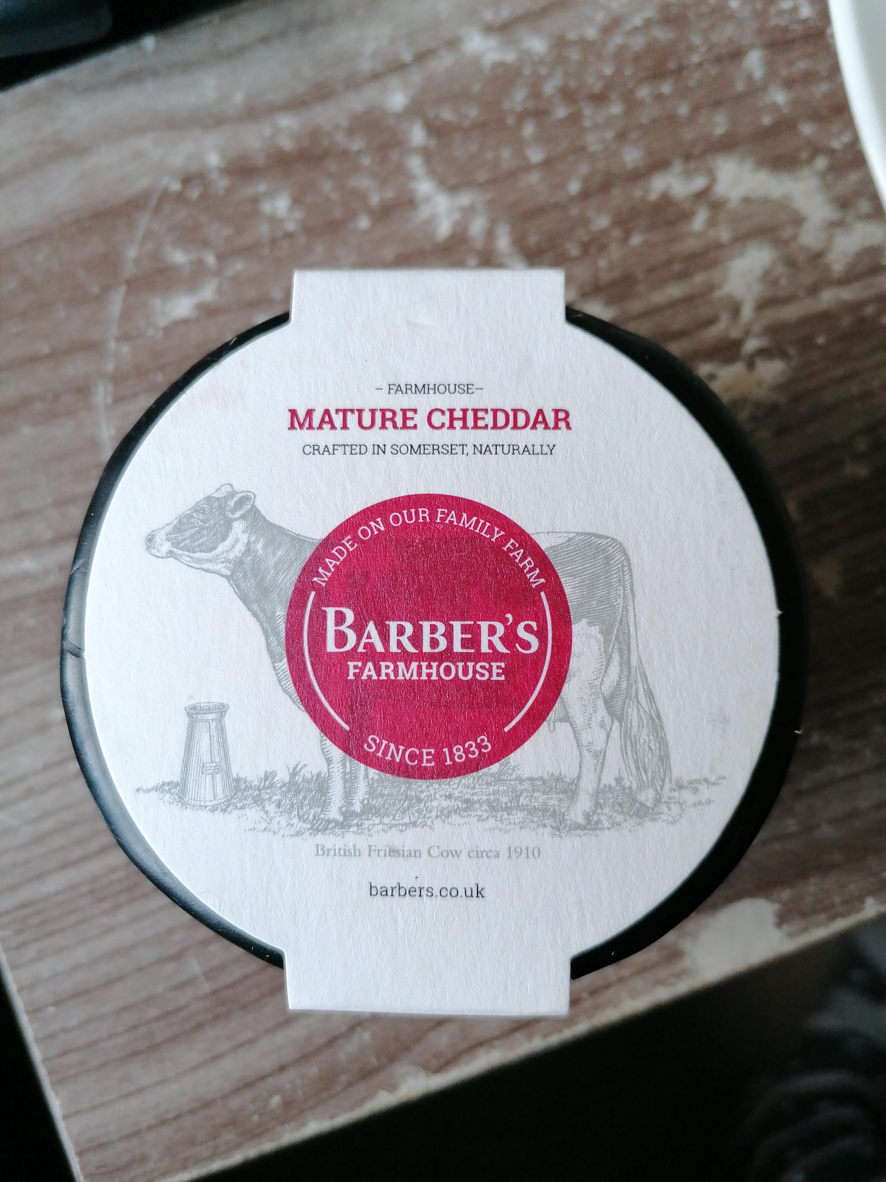 Barber's Farmhouse Mature Cheddar