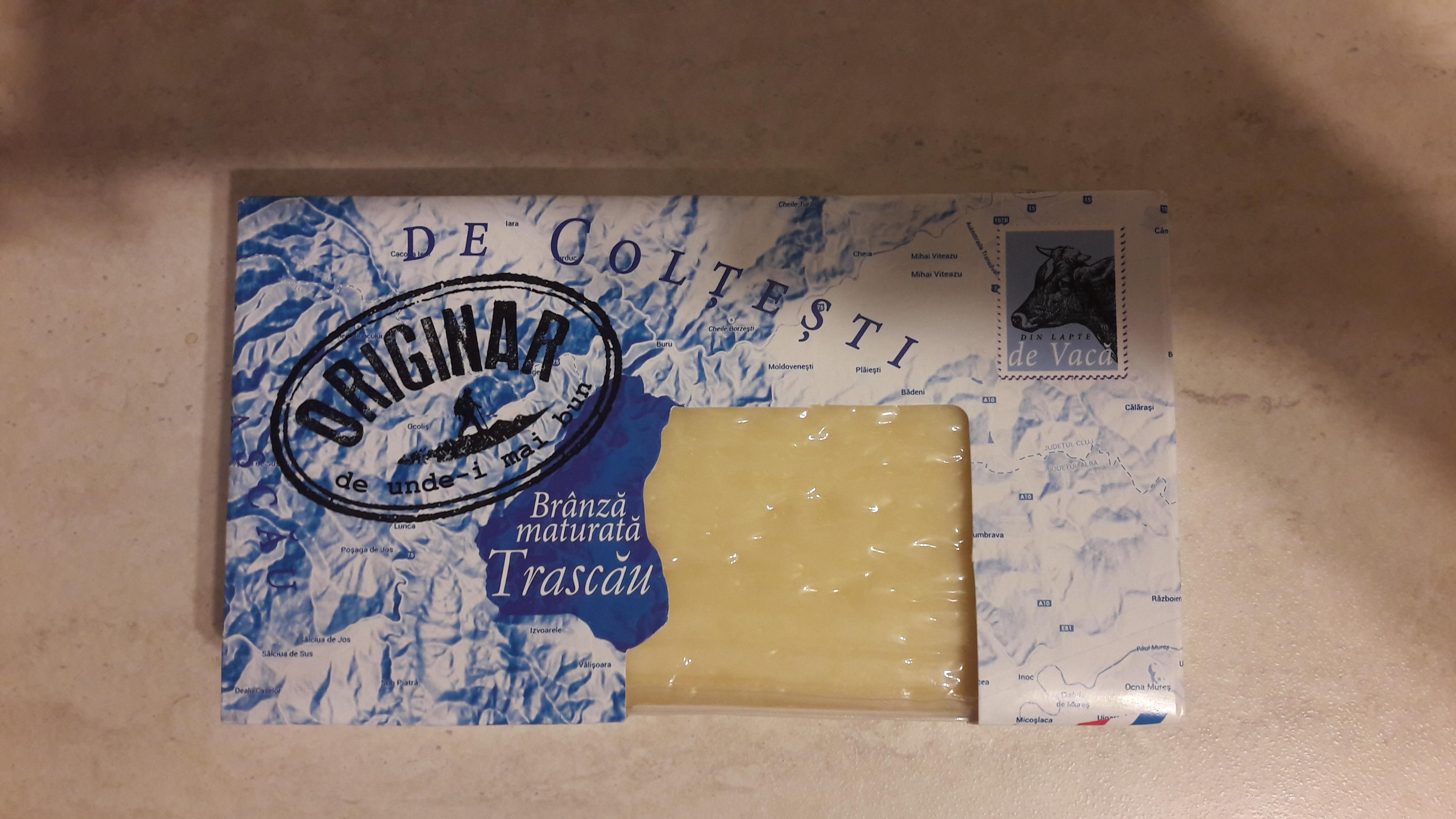 Brânză maturată Trascău