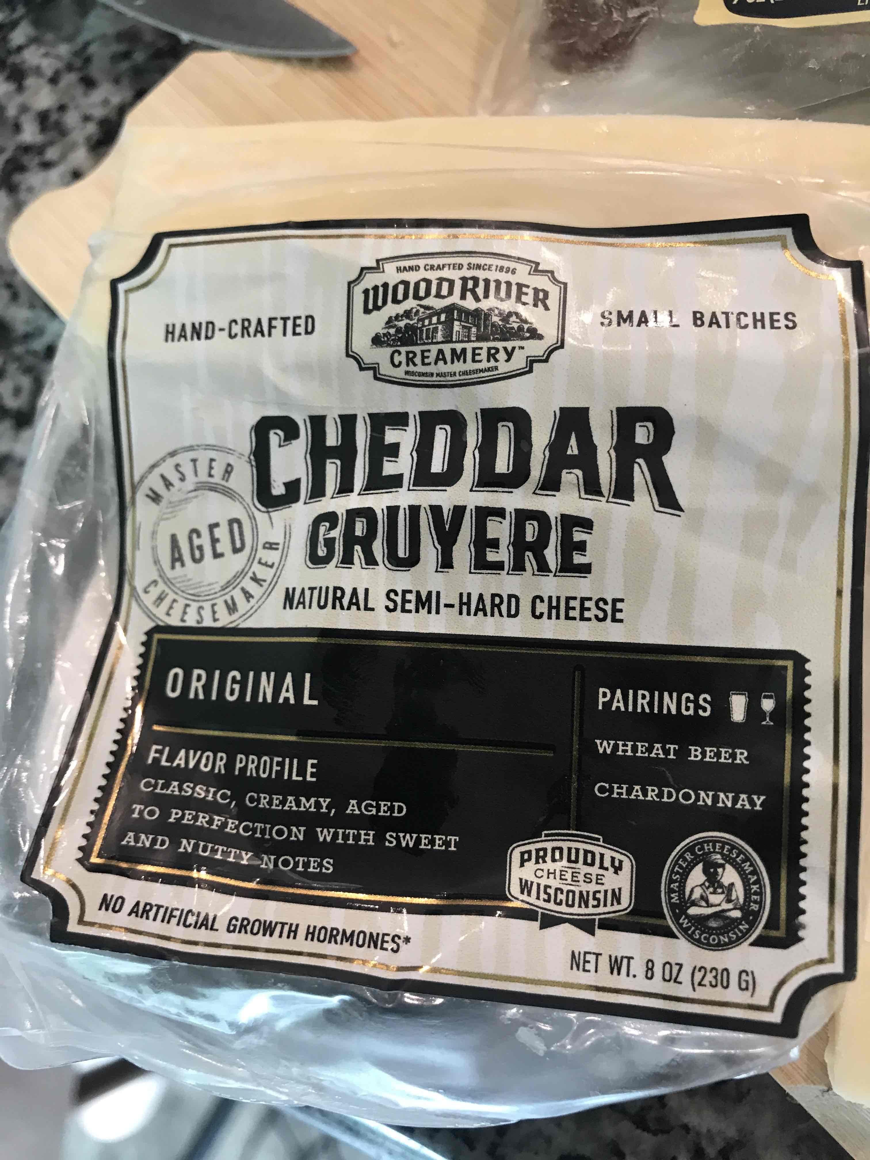 Cheddar Gruyere