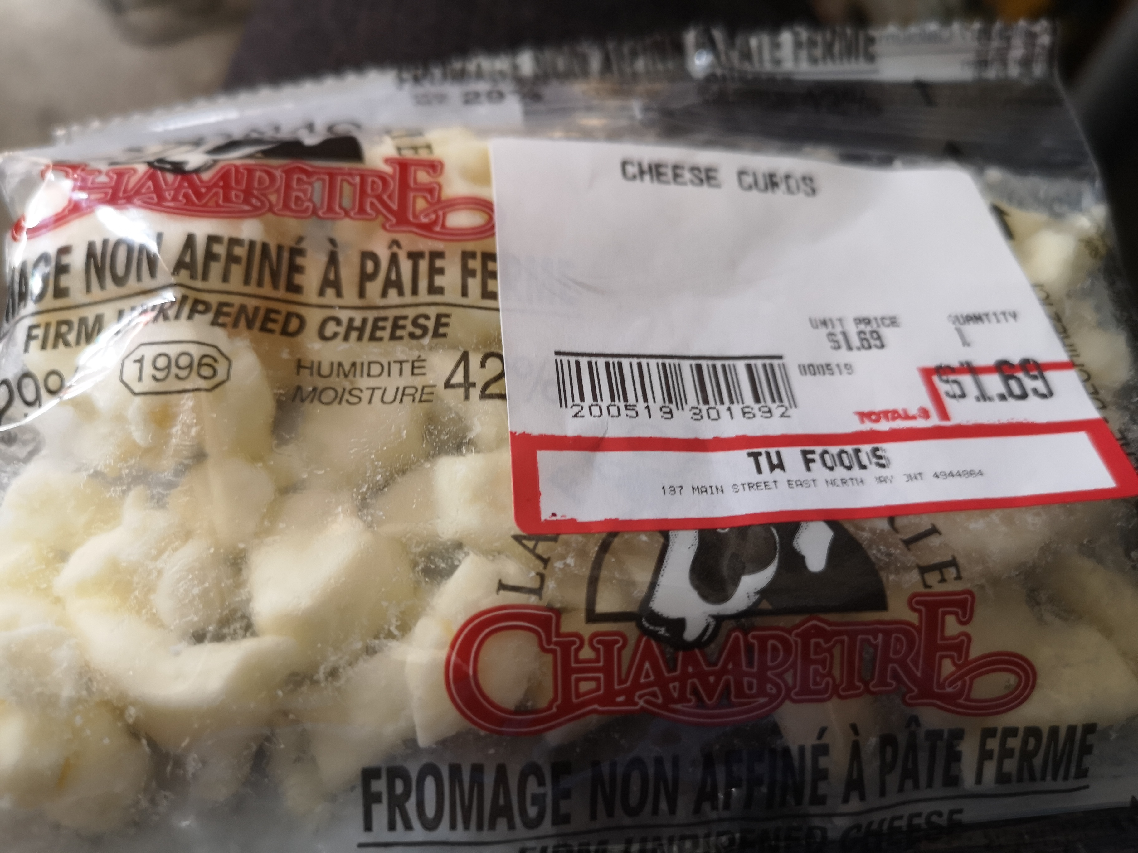 Champetre Cheese Curds
