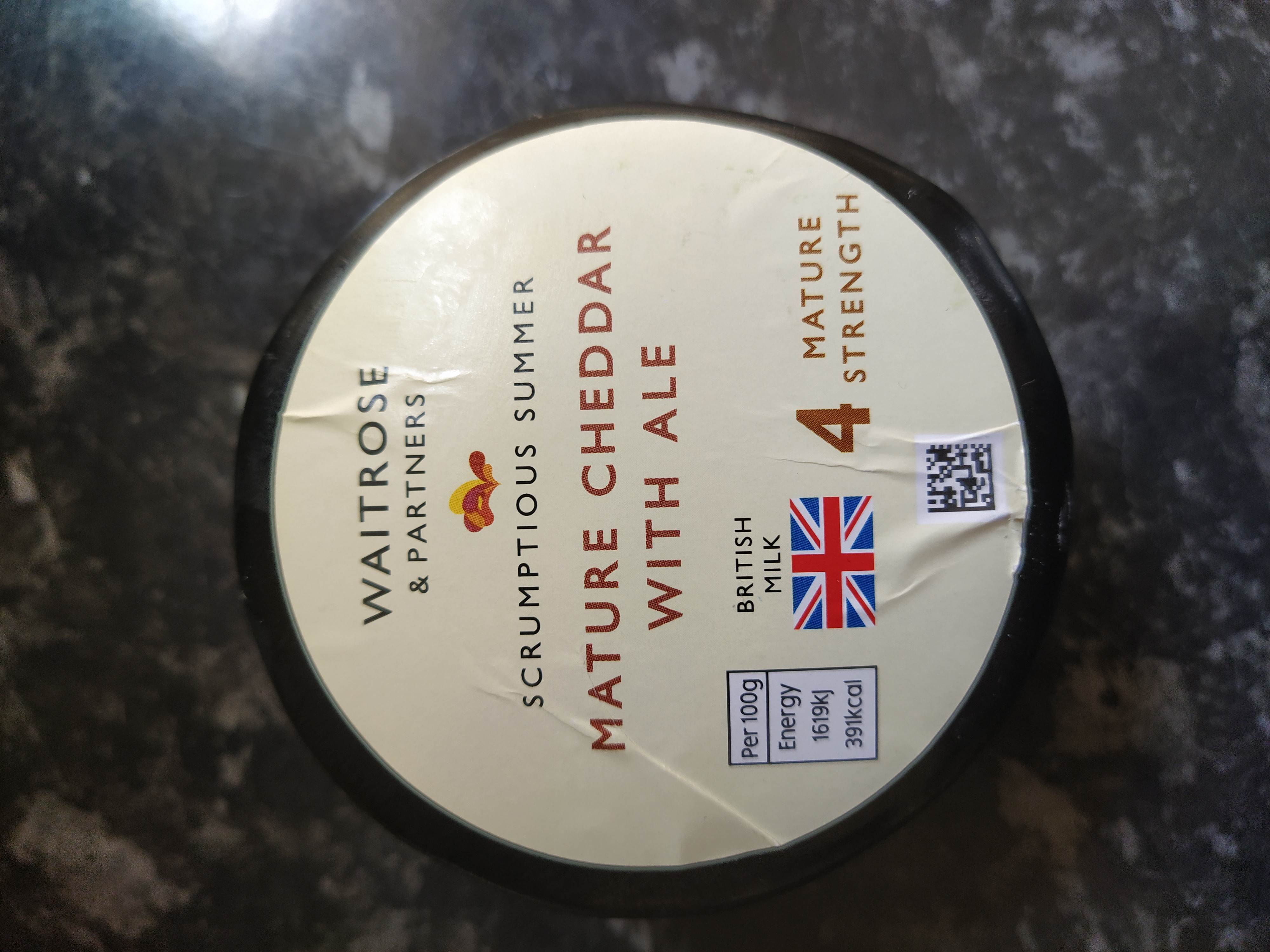 Mature Cheddar With Ale