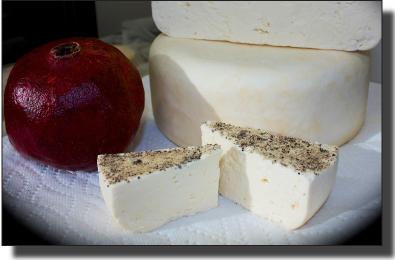 Kefir Peppercorn Cheese