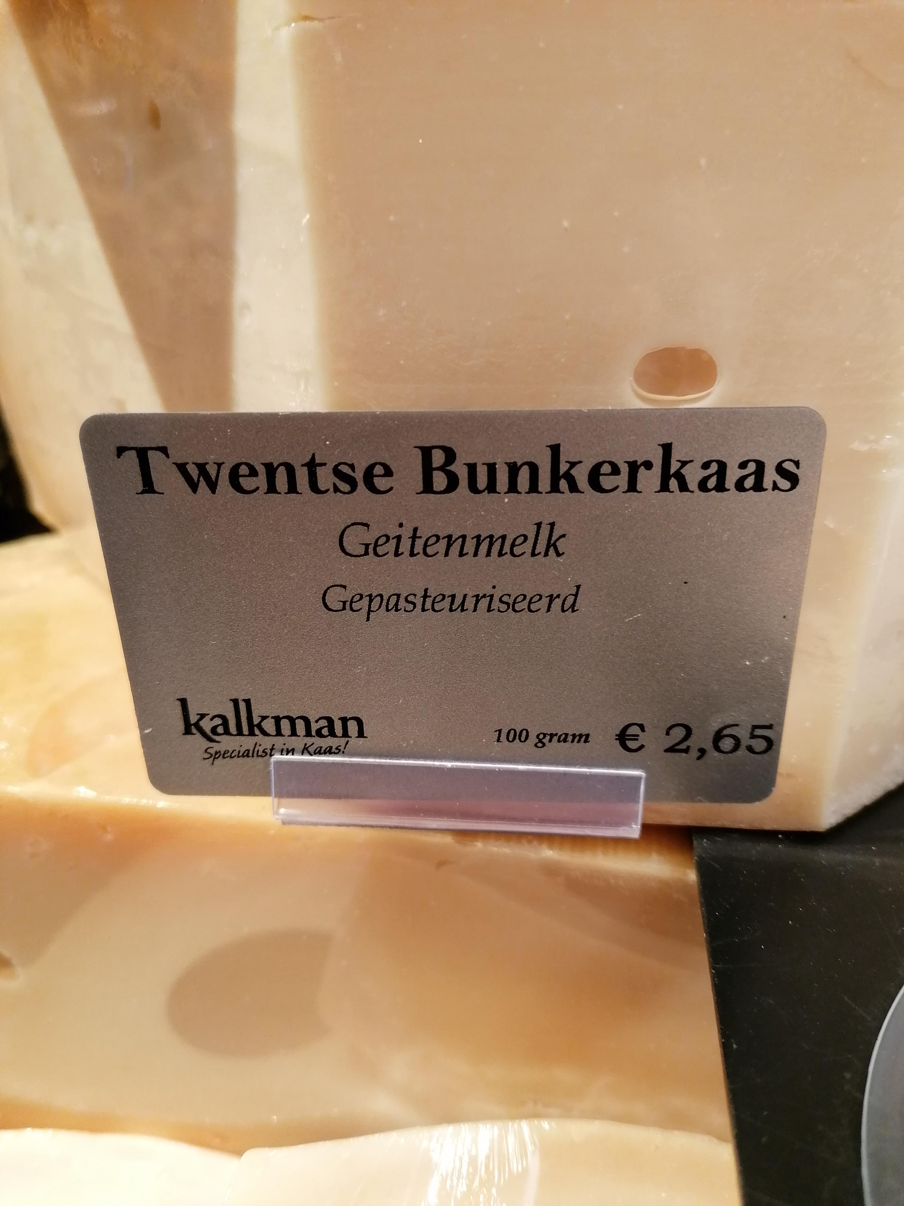 Twentse Bunkerkaas