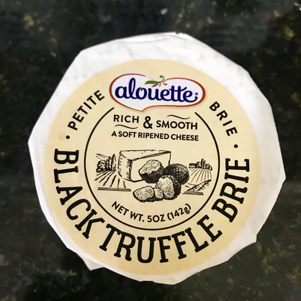 Black Truffle Petite Brie