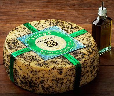 Sartori Reserve Basil & Olive Oil Asiago