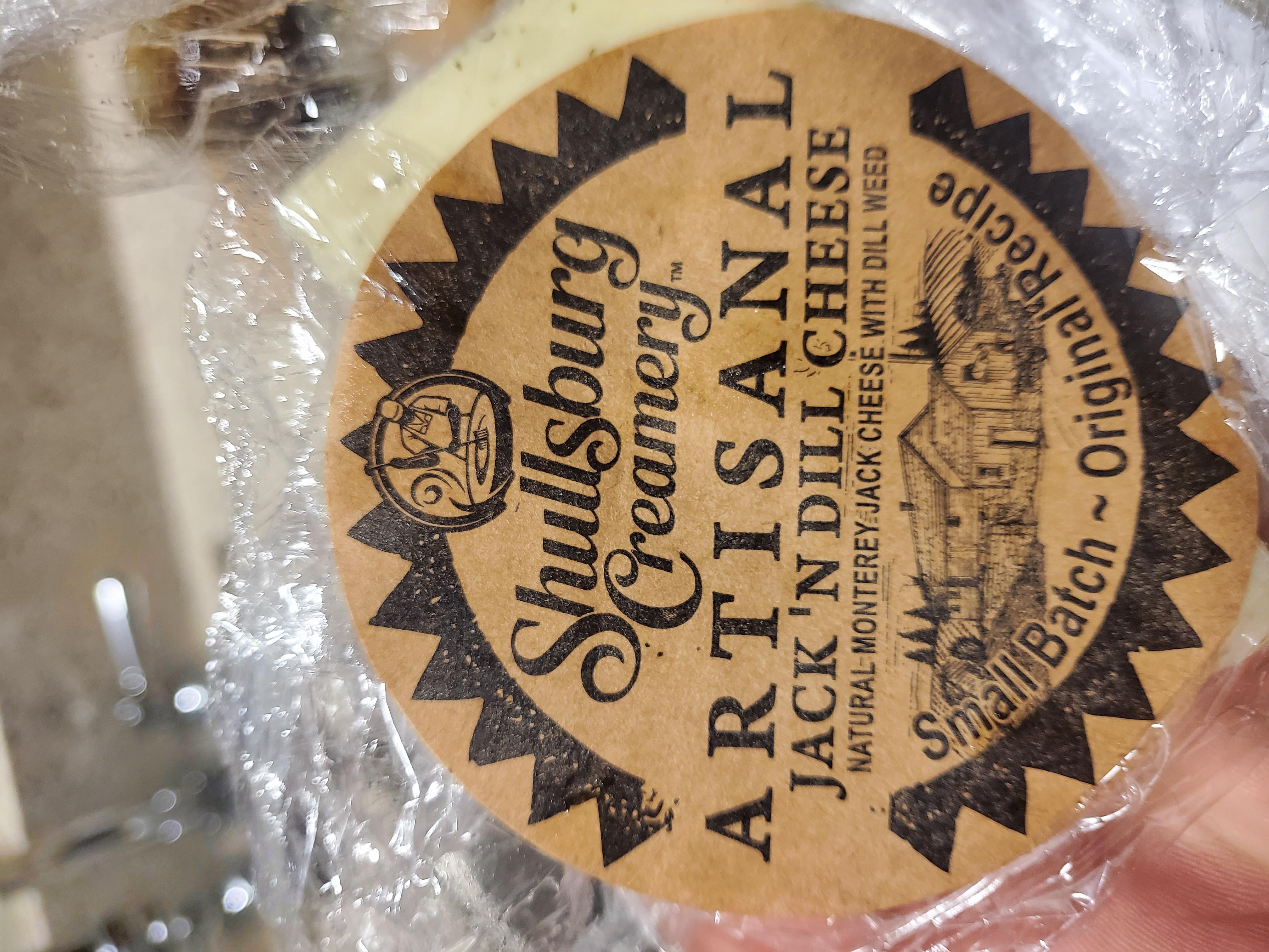 Artisanal Jack N Dill Cheese