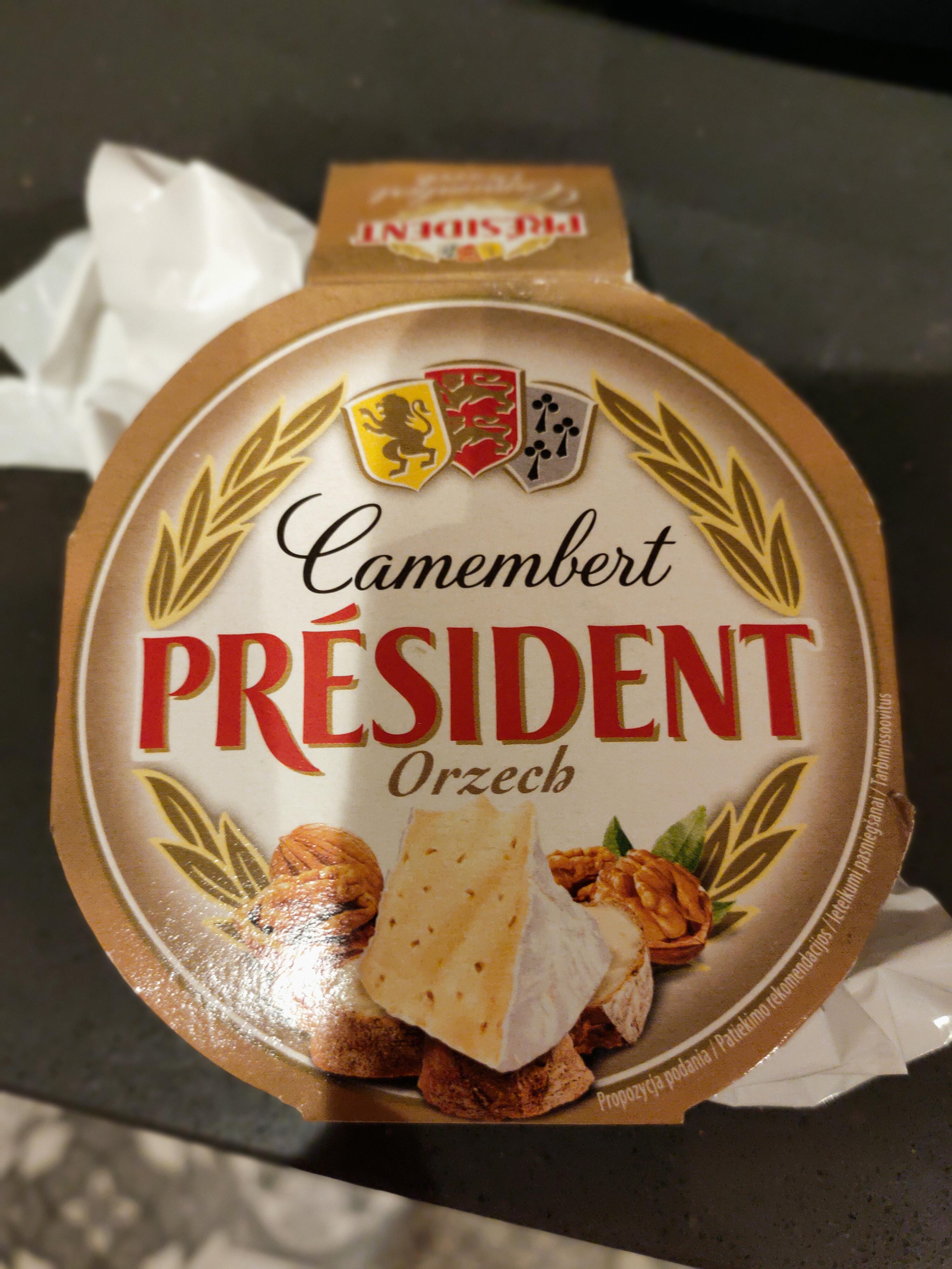 Président Camembert Orzech
