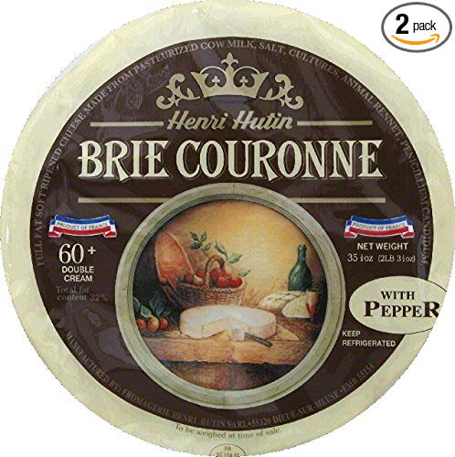 Brie Couronne with Pepper