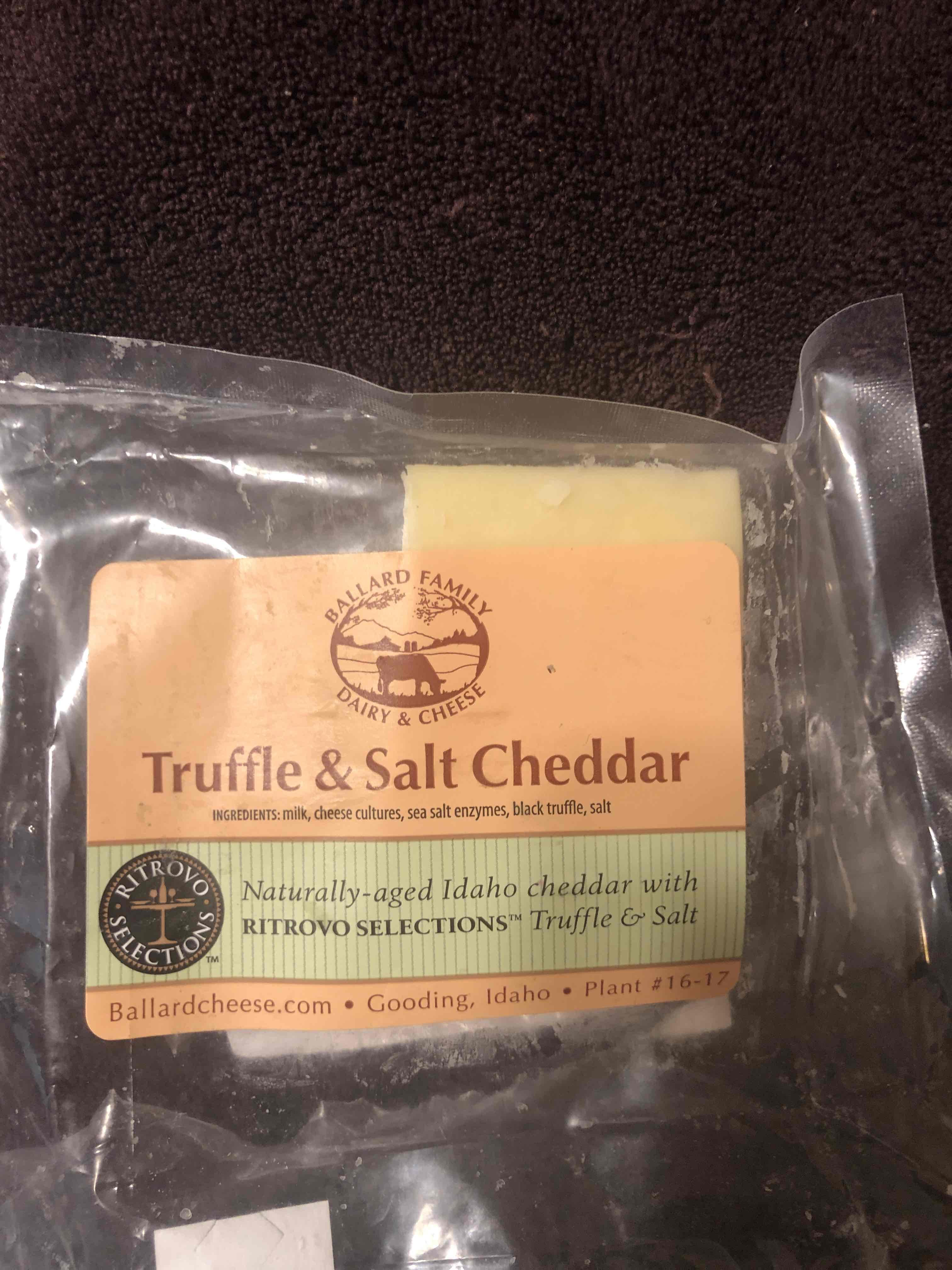 Truffle and Salt Cheddar