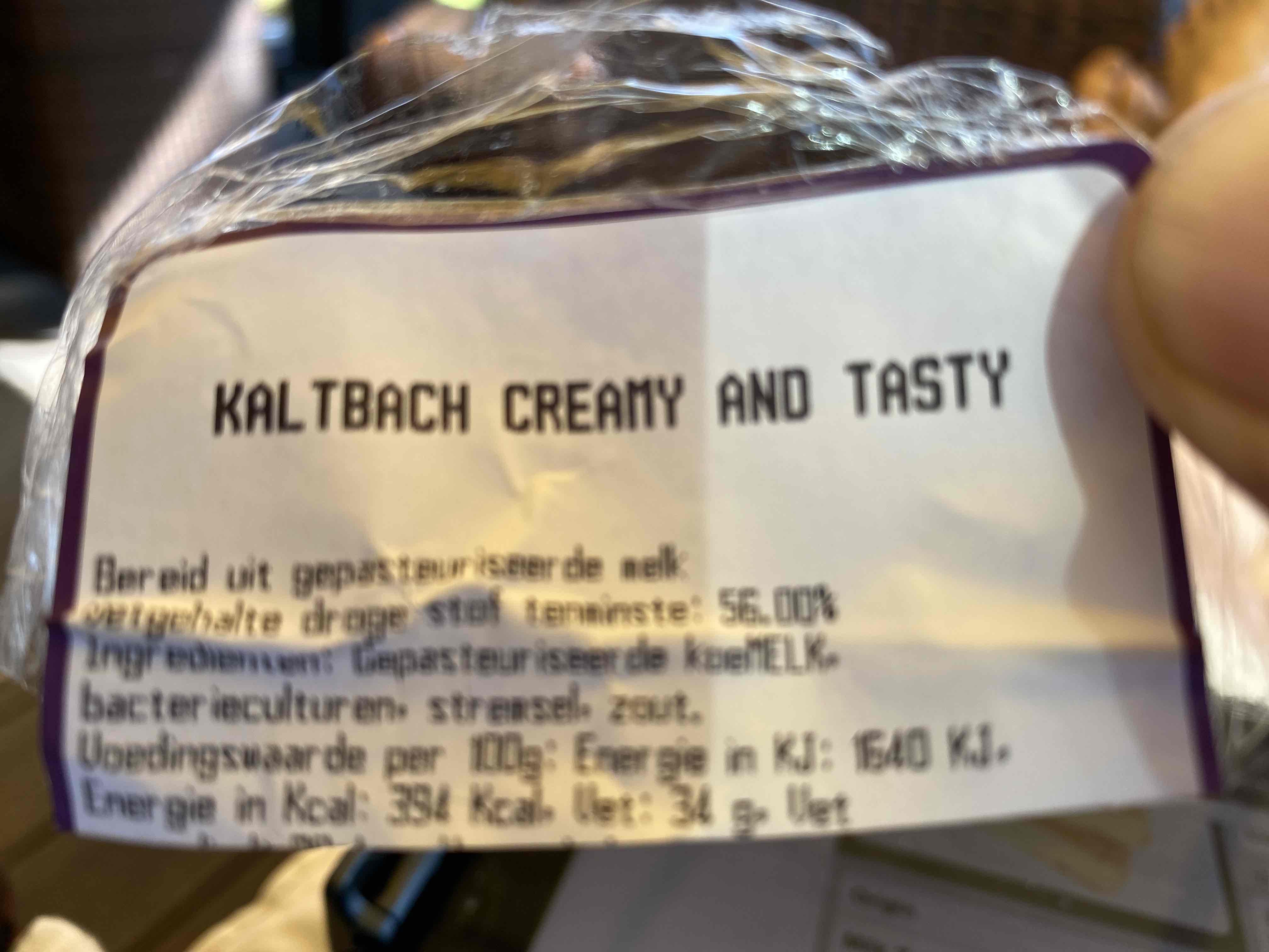 Kaltbach Creamy and Tasty