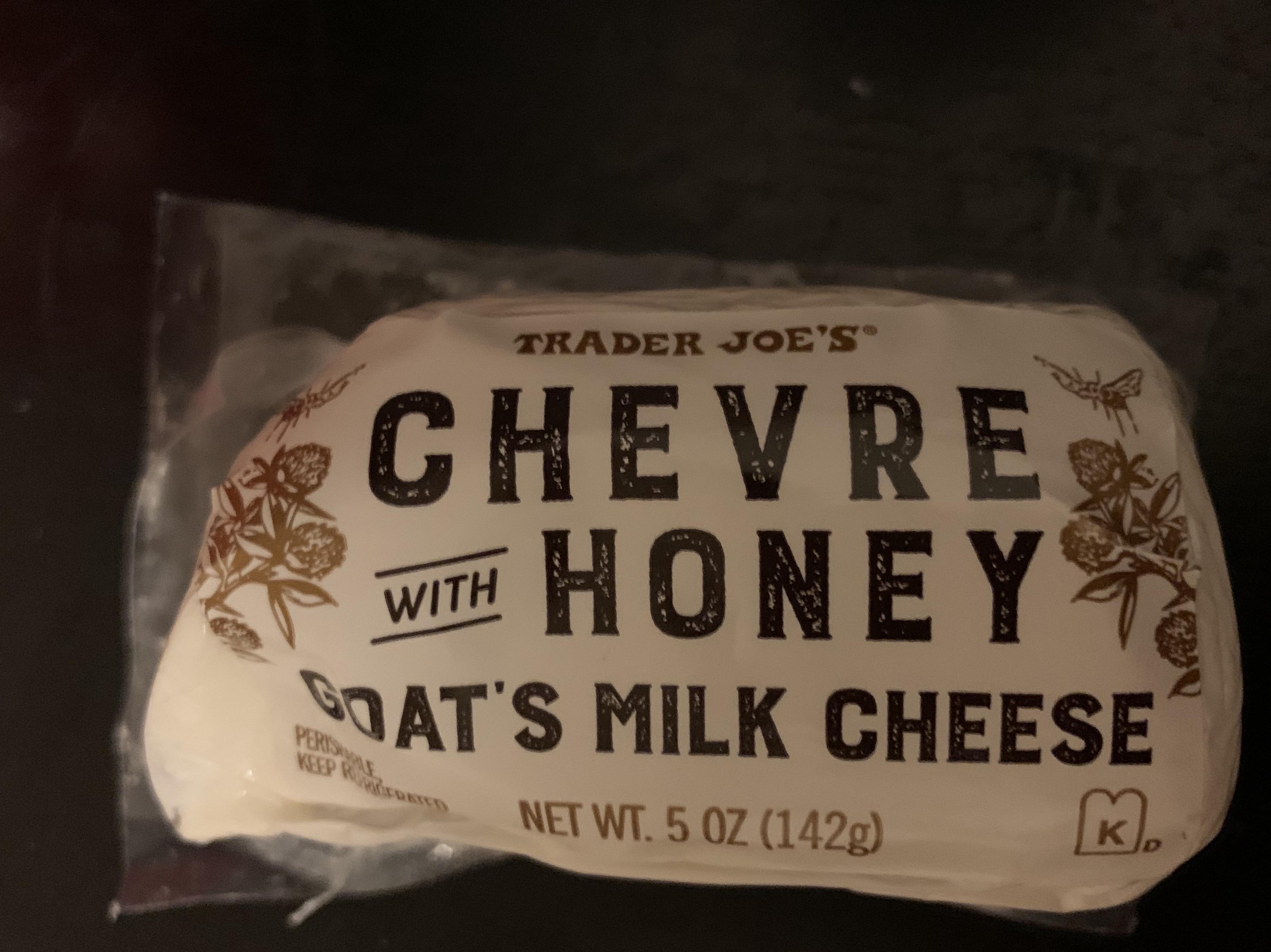 Chevre with Honey