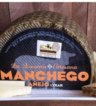 La Queseria Artesana Manchego 12 month