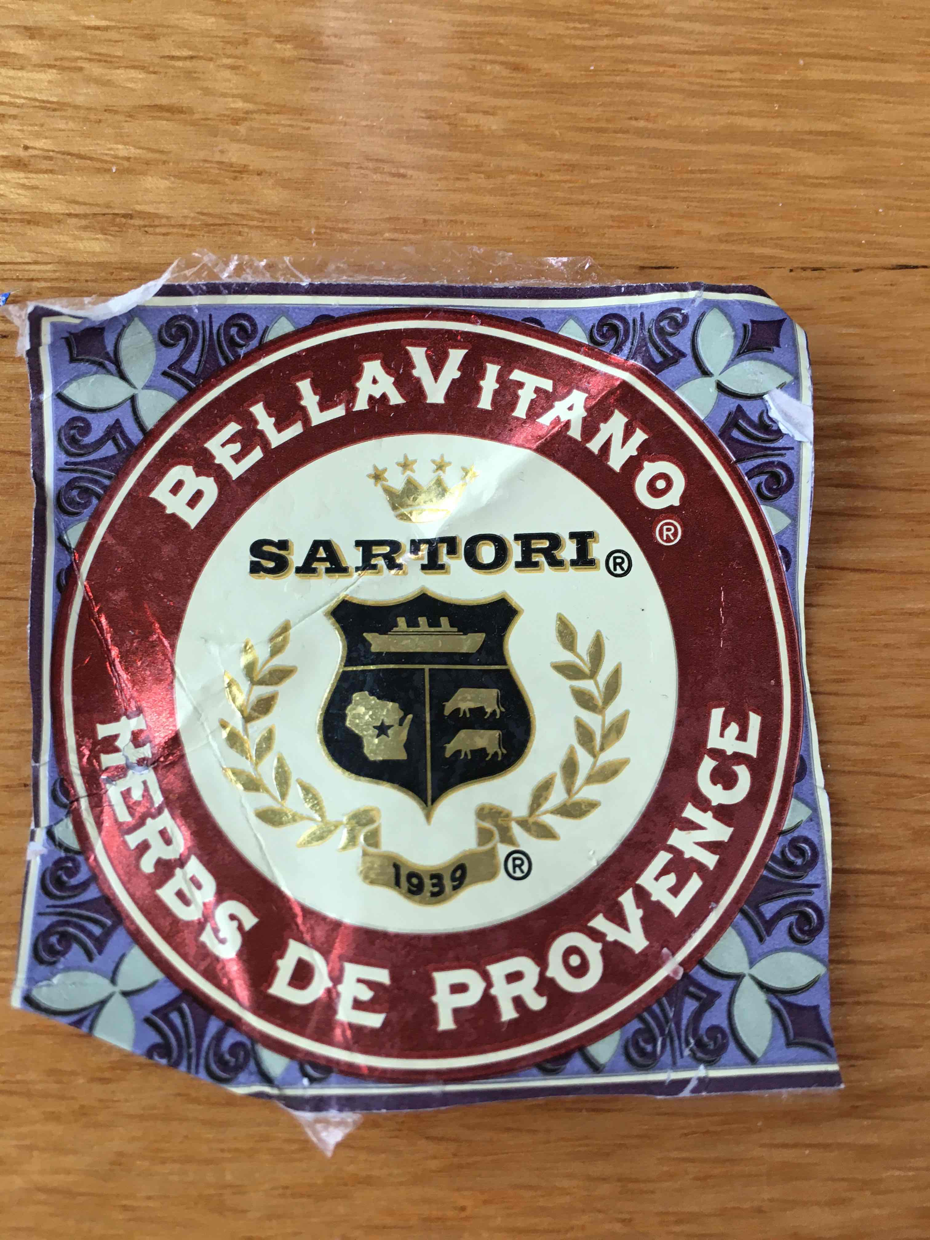 Sartori BellaVitano Herbs de Provence