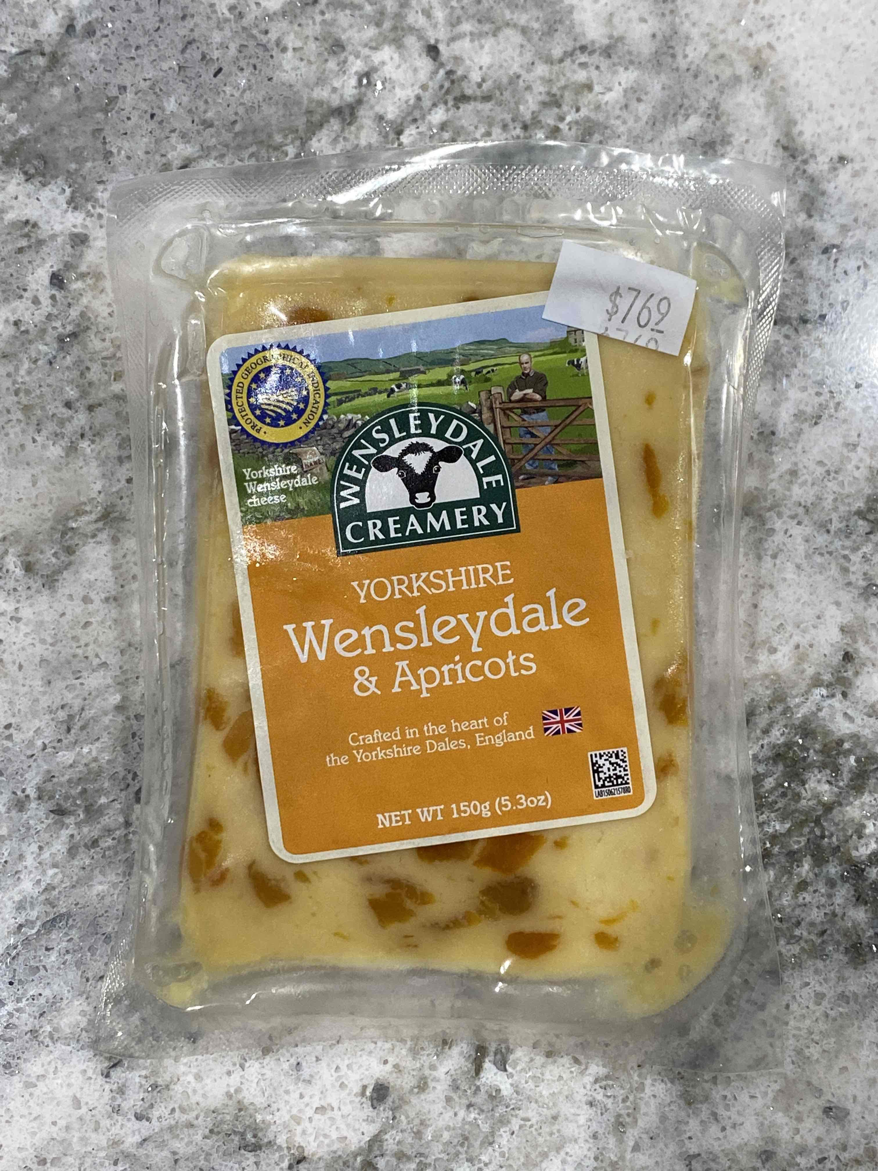 Yorkshire Wensleydale & Apricots