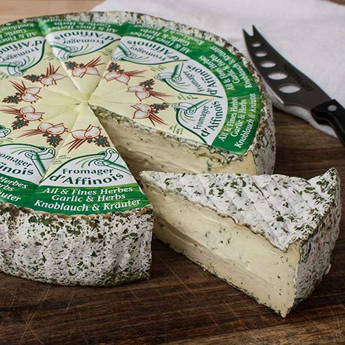 Fromager d'Affinois with Garlic and Herb