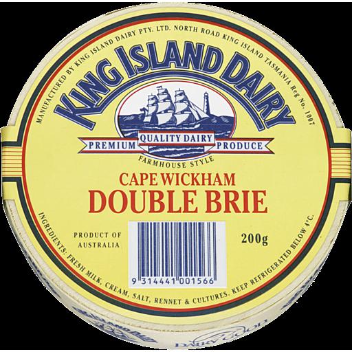 King Island Cape Wickham Brie