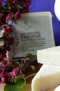 LaClare Farms Raw Goats Milk Cheddar