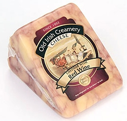 Cheddar with Red Wine