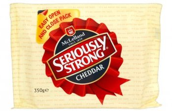 Seriously Strong Cheddar