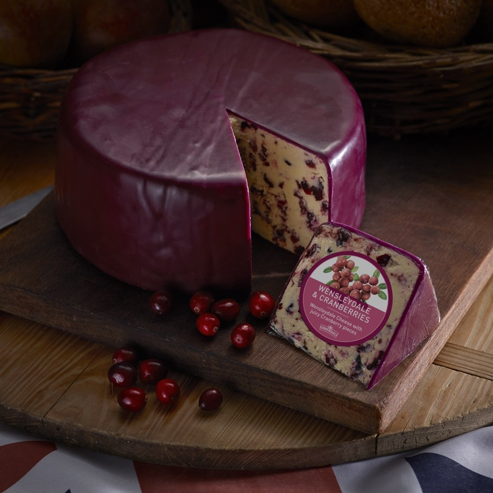 Somerdale Wensleydale with Cranberries