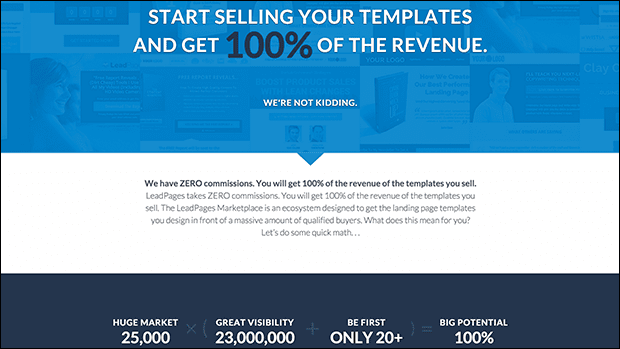 Inspire your audience to opt-in on this call to action landing page template.