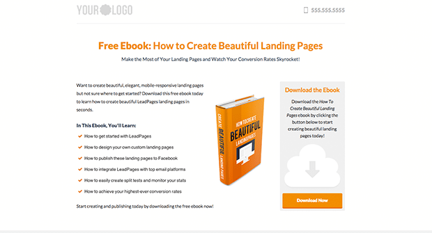 Conduct B2B Marketing with this new Enterprise Lead Gen Template.