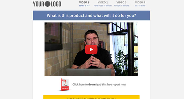 Launch Funnel Page