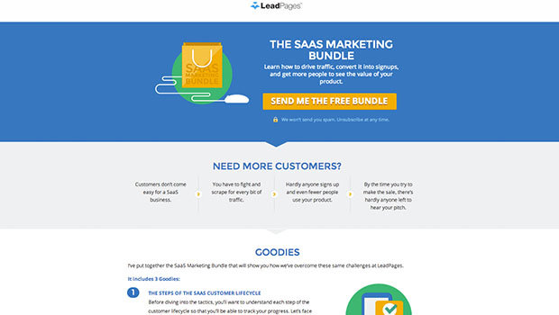 The Long Form Landing Page That Builds Your Brand