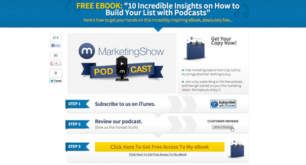 iTunes SEO Page