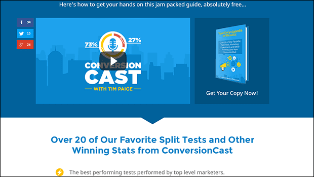 Increase Podcast Rankings With This Podcast Landing Page