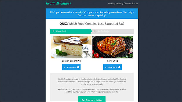 Quiz Your Visitors to Drive Engagement with This Unique 2-in-1 Opt-in Page