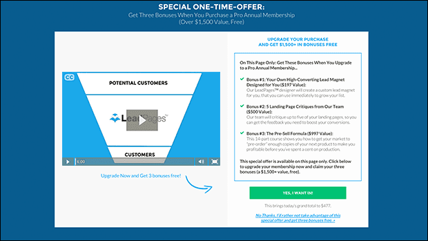 A Simple Upsell Page Template That Automatically Boosts Revenue