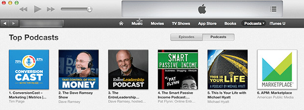 Just released today, ConversionCast is already ranked #1 of all business podcasts.