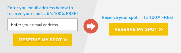 Going from a one-step opt-in to a two-step opt-in form like this can increase your opt-ins by 30% or more.