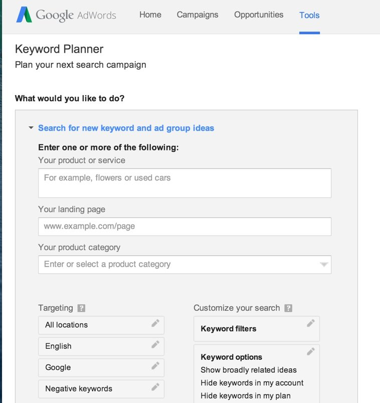 Adwords-Example
