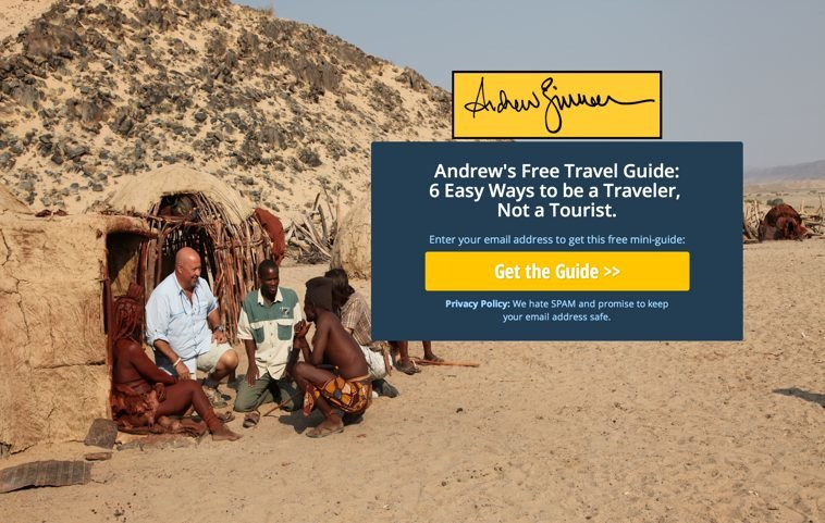 Andrew Zimmern s Free Travel Guide LeadPages
