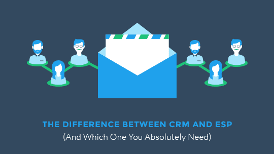 The Difference Between CRM and ESP