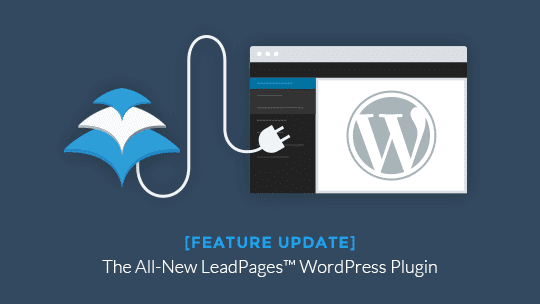 Link your LeadPages™ account to your WordPress site with the New LeadPages™ WordPress Plugin.